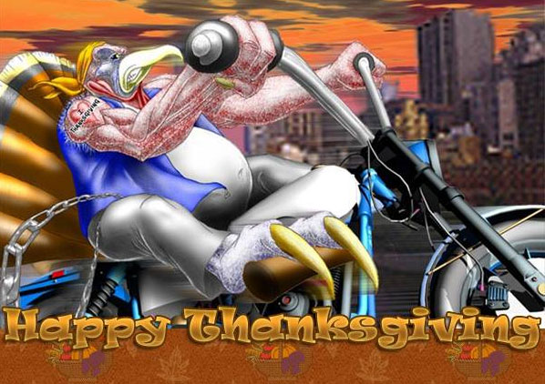 Happy Thanksgiving from Meancycles!