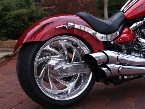 Yamaha Raider Tire Replacement