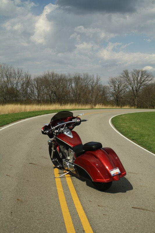 Meancycles New Redesigned Vacuum Molded Custom Bagger