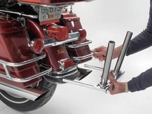 Meancycles Parade Flag Holder For Harley Davidson S Flt And Flh