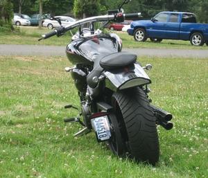 Yamaha Raider License Plate Mount