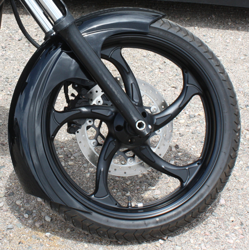 Meancycles Full Wrap Front Fender For The Star Stryker