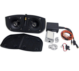 Meancycles Stereo System For Memphis Shades Batwing