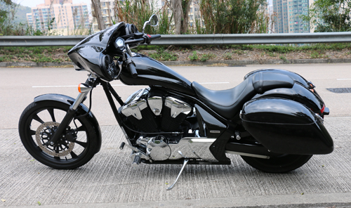 MeanCycles   CHOPPA FAIRING FOR HONDA FURY WITH AMP ...