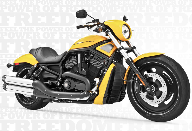 Racing Slip Chrome Tip V-Rod Freedom HD00333 Exhaust