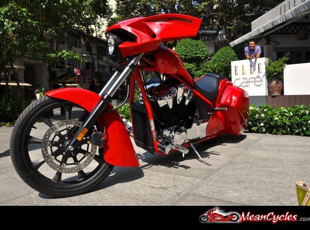 Meancycles Rear Bagger Kit For Honda Fury Sabre Stateline Interstate Prime Part No Vn