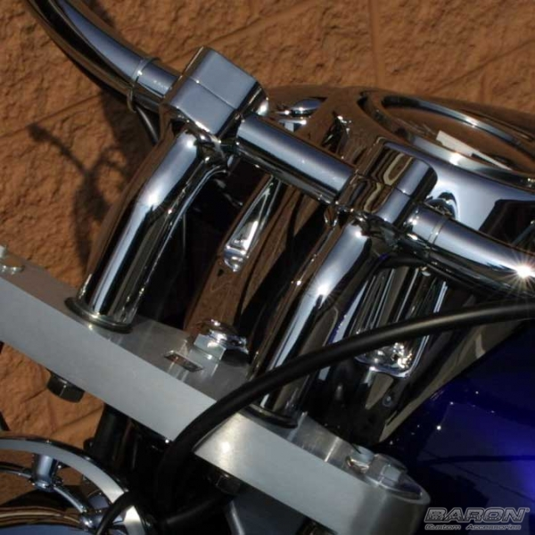 Brake Pads And Rotors Prices >> MeanCycles   4 INCH KICKBACK CHROME RISERS W/ 1 1/2