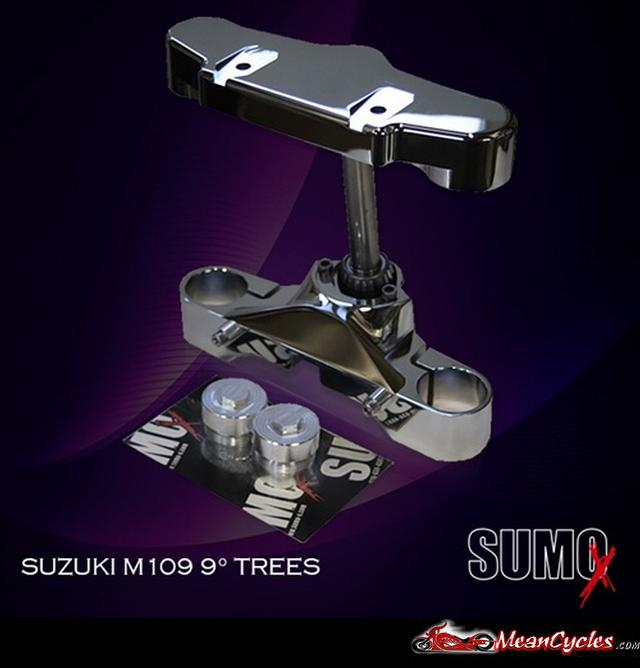MeanCycles | 9 DEGREE TRIPLE TREE FOR SUZUKI M109R WITH 26