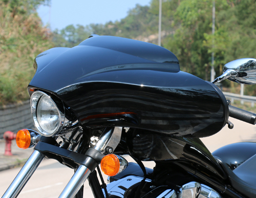 Meancycles Choppa Fairing For Honda Fury With Amp