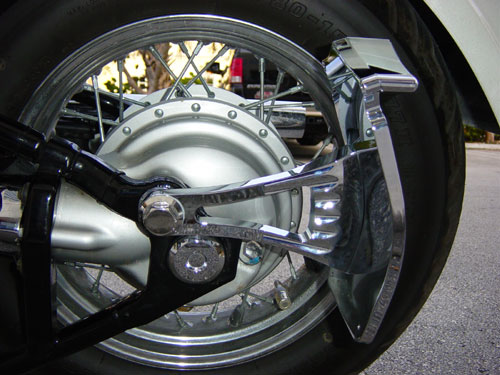 Meancycles Side Mount License Plate Custom Bushing For