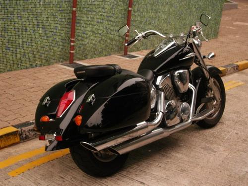 quick detachable hard saddlebags for honda vtx 1300 / 1800 retro / n