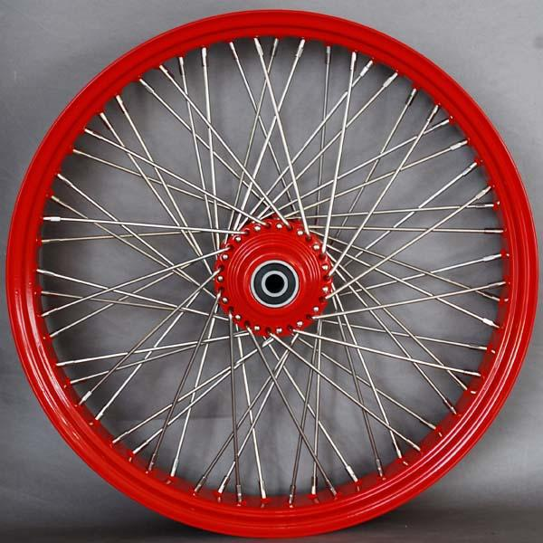 Meancycles 240 Tubless Chrome Spoke Rear Wheel And