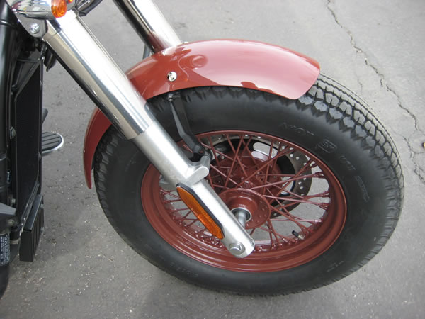MeanCycles   FRONT FENDER KIT FOR VULCAN 900 - Part No: BC