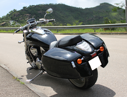 Meancycles Quick Detachable Hard Saddlebags For M109r
