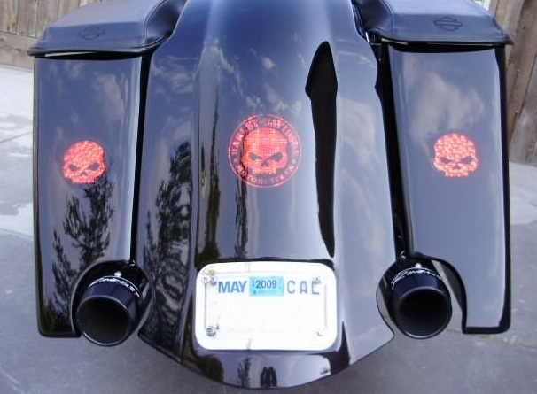 Meancycles Rear Fender Cover W Flush Brake Recessed