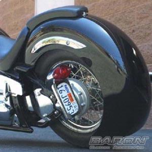 Meancycles Gangster Rear Fender For V Star 110 Custom