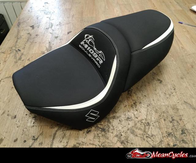 Meancycles Dual Custom Gel Seat For Suzuki Boulevard