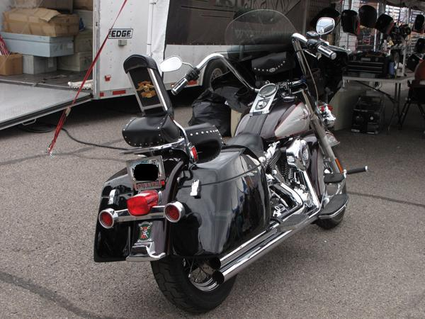 Windshield Replacement Come To You >> MeanCycles | HARD BAGS FOR SOFTAIL HERITAGE CLASSIC (MOUNT ...