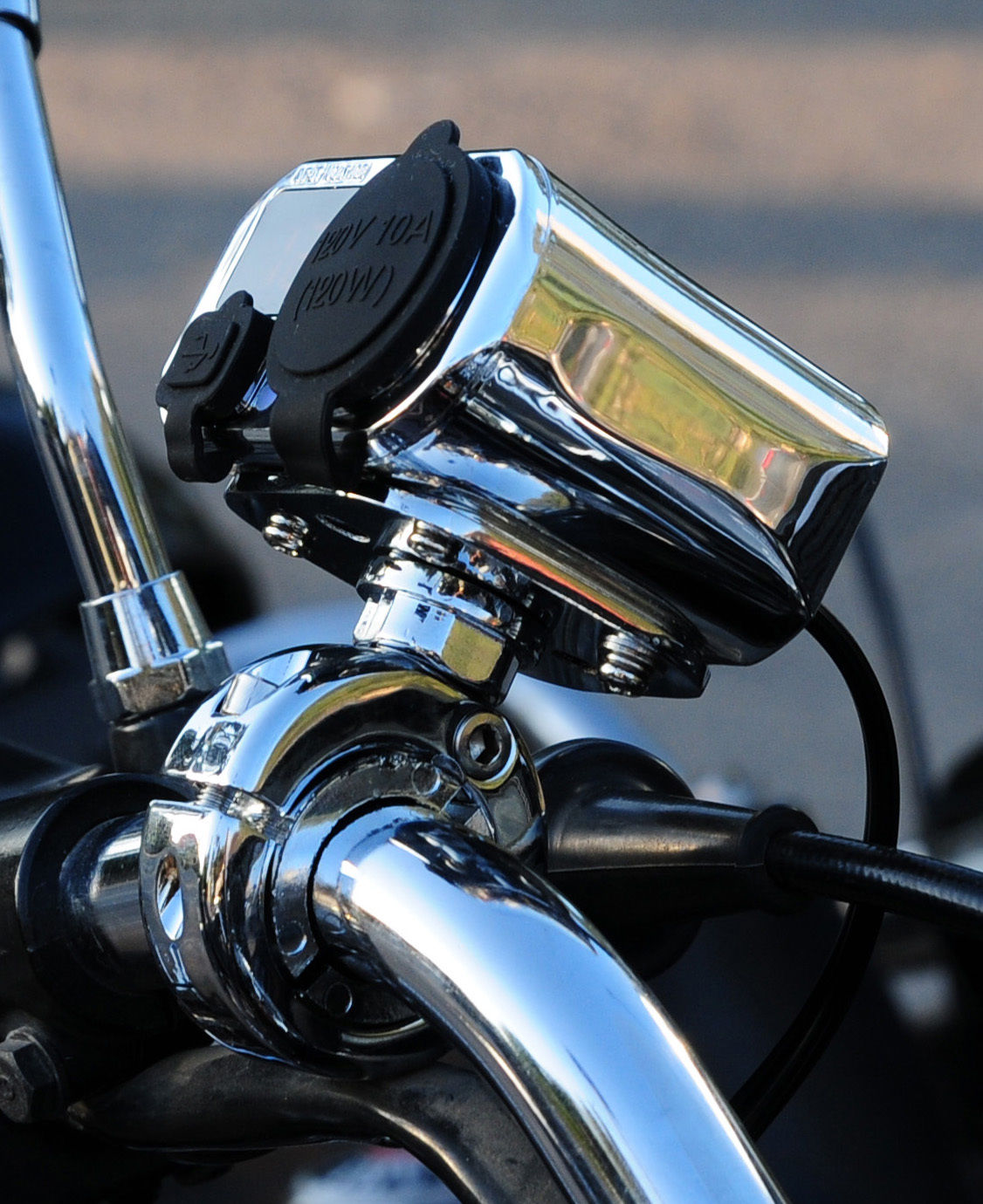 Meancycles Waterproof Motorcycle 3 In 1 Electronic Power