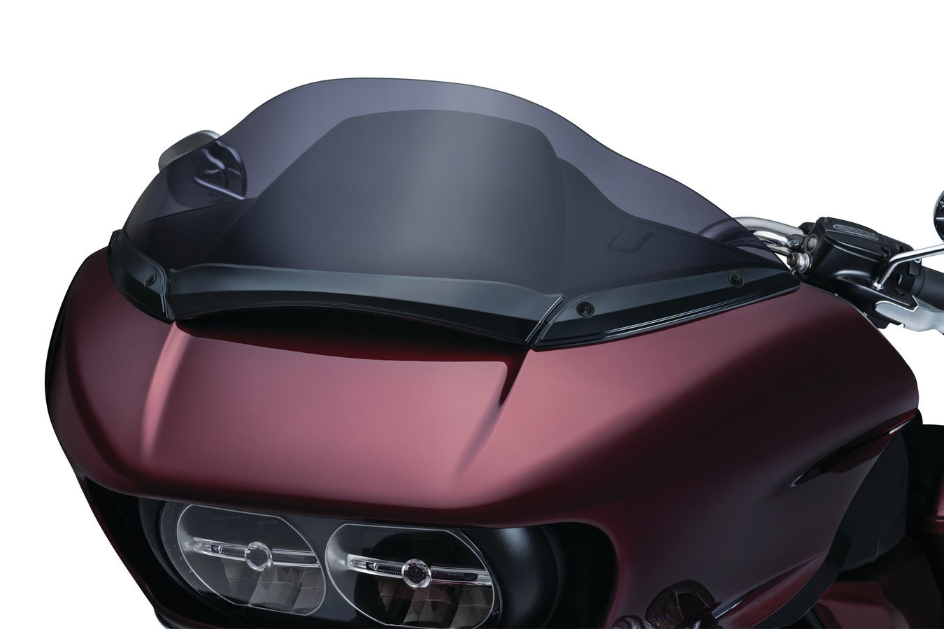 MeanCycles   WINDSHIELD CENTER TRIMS FOR HARLEY DAVIDSON ROAD GLIDE