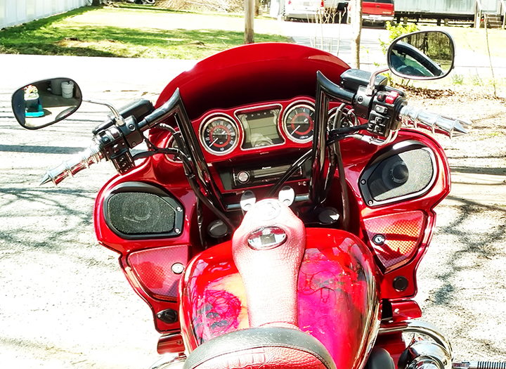 Meancycles Kawasaki Vaquero 11 Menacing Monkey Custom Handlebar