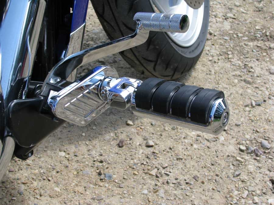 Meancycles Chrome Peg Extender Moves Driver Pegs
