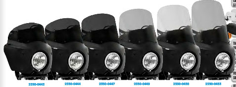 MeanCycles | WINDSHIELD FOR ROAD WARRIOR FAIRING - Part No: PA23500442