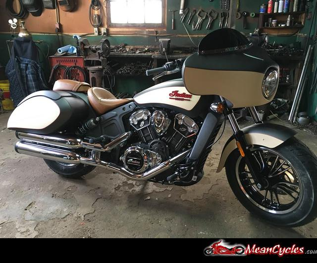 MeanCycles | BAGGER KIT FOR INDIAN SCOUT - Part No: SCOUT-BAGG